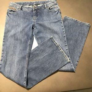 Women's Harley-Davidson Curvy Bootcut Jeans Size 8